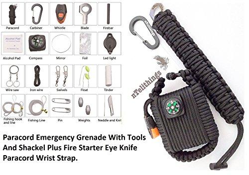 paracord survival cord combo kit