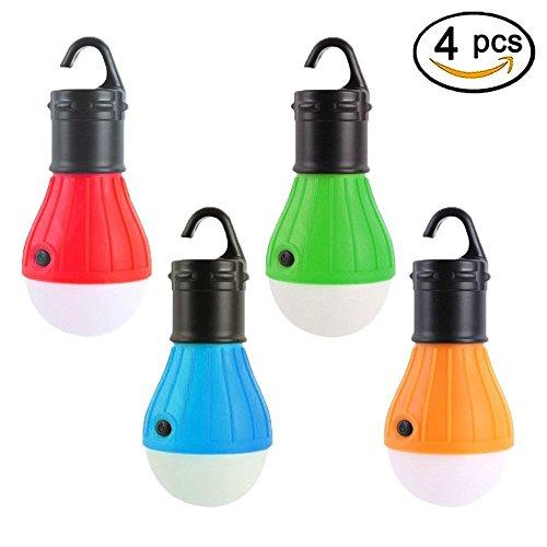 LED Lantern Tent ...  sc 1 st  edc-packs.com & LED Lantern Tent Camping Light 4 Pack Viewpick Portable LED Tent ...