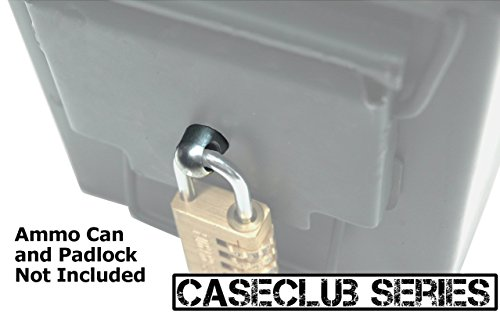 Case Club Locking Hardware Kit For Steel 50 Cal Fat 50 30 Cal 20 Mm 40 Mm Ammo Cans Edc Packs Com