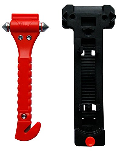 leyaron 2 pack car safety hammer emergency safety escape tool with seatbelt cutter and window. Black Bedroom Furniture Sets. Home Design Ideas