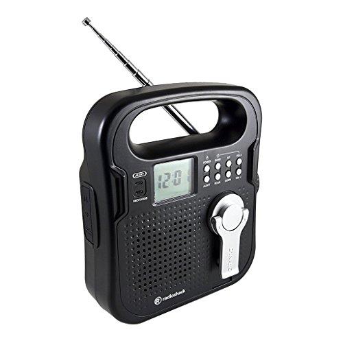 radio shack crank radio