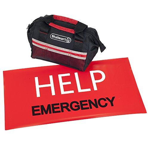 Stalwart Emergency Roadside Kit With Travel Bag  Piece