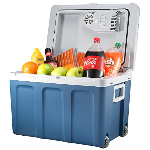 Knox Gear 48 Quart Electric Cooler Warmer With Dual Ac And
