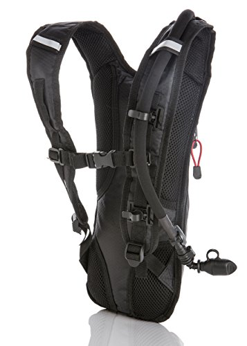 6726b503be SunShack Hydration Backpack with 2L Water Bladder - Lightweight and ...