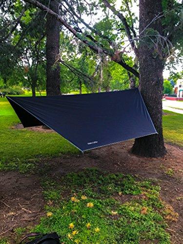 alpha cover hammock     alpha cover hammock cover rain fly tarp waterproof camping shelter      rh   edc packs