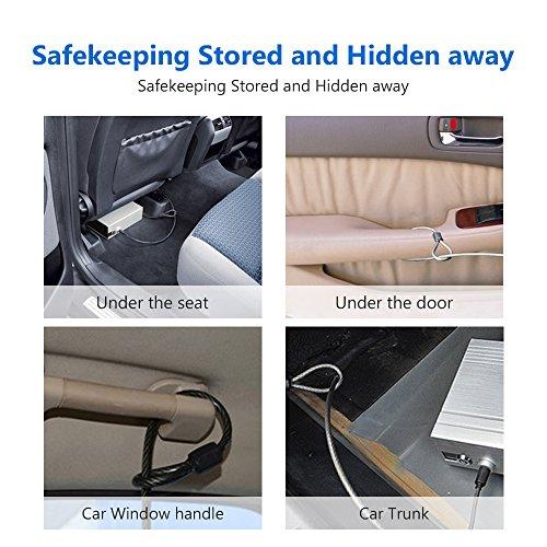 coocheer car safe box portable combination lock car security safe