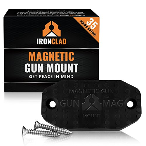 Ironclad Rubber Coated Gun Magnet Mount Anywhere No