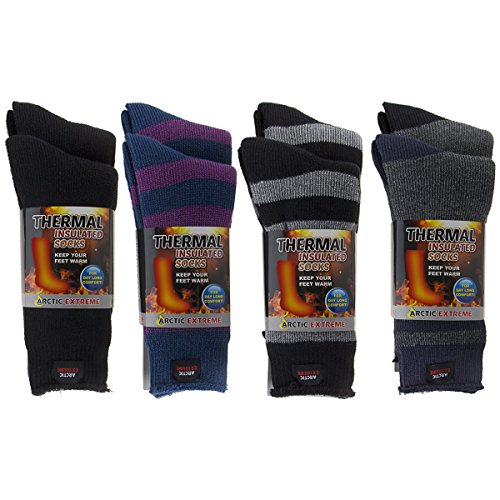 2 Pairs Of Thick Heat Trapping Insulated Heated Boot