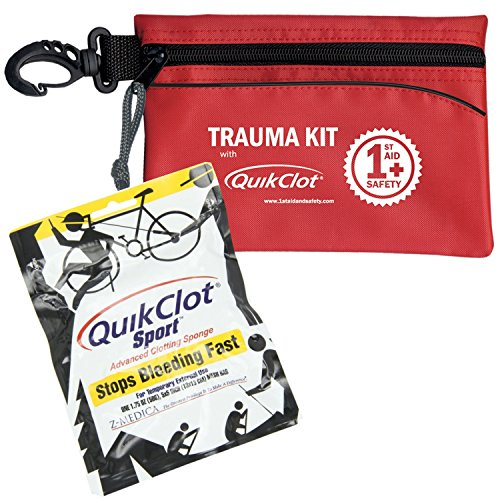 ResQue1st Trauma & Emergency First Aid Kit With Quikclot