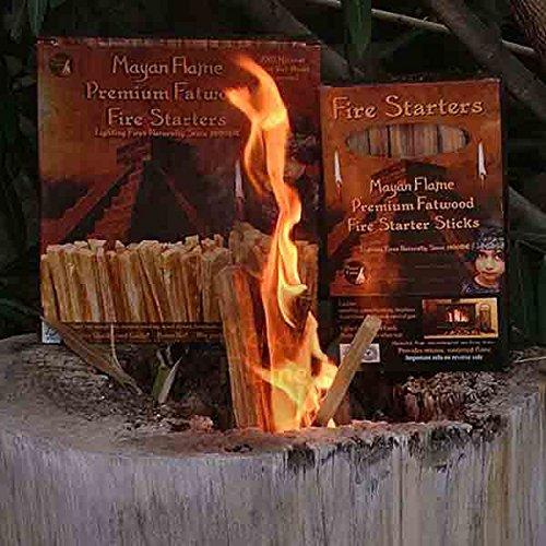 Mayan Flame Premium Fatwood Fire Starter Sticks