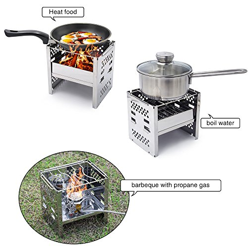 Yoler Backpacking Camping Mini Stoves Ultra Light Portable