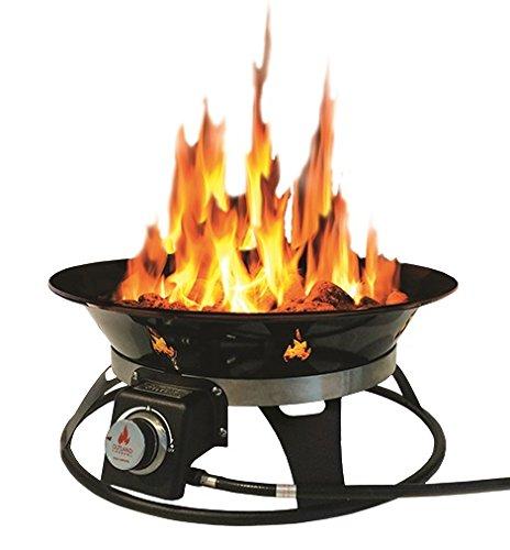 Outland Firebowl 863 Cypress Outdoor Portable Propane Gas ...