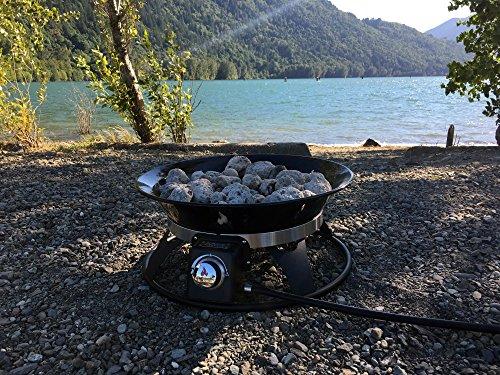 Outland Firebowl 863 Cypress Outdoor Portable Propane Gas ... on Outland Firebowl 21 Inch id=34272