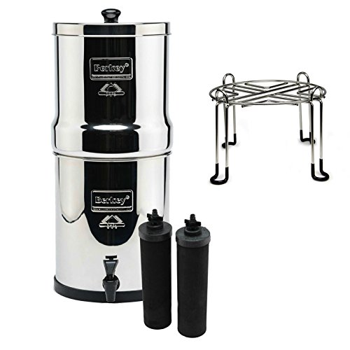 Royal Berkey Stainless Steel Water Filtration System With